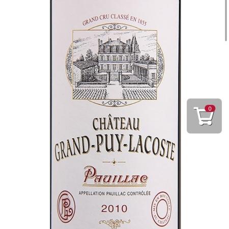 Château Grand-Puy-Lacoste Pauillac Red Bordeaux Blend 2010