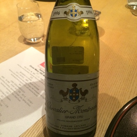 Domaine Leflaive Chevalier-Montrachet Grand Cru Chardonnay 1996