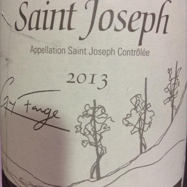 Saint Joseph Syrah 2013