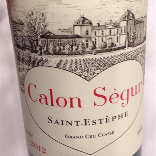 Saint-Estèphe Red Bordeaux Blend 2012 (1500ml)