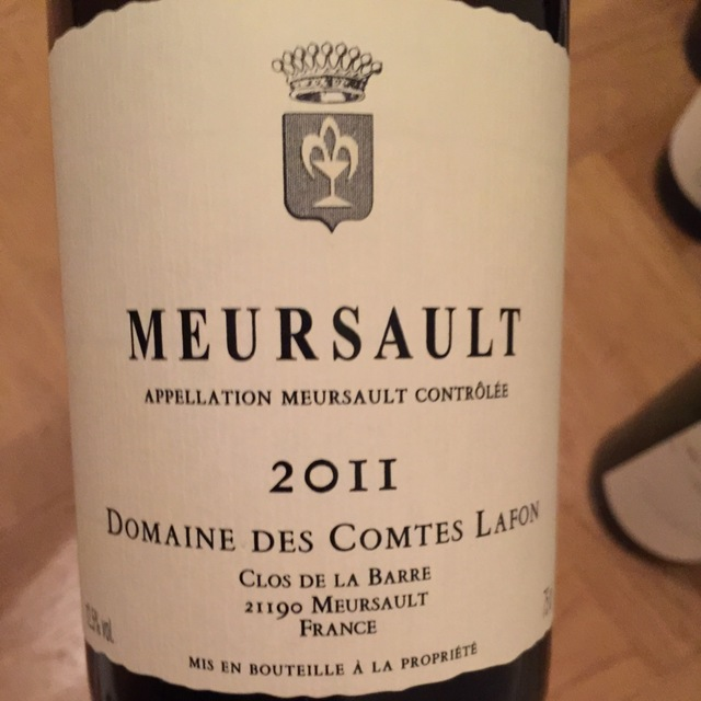Meursault Chardonnay 2011