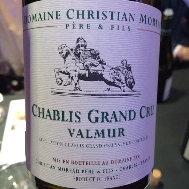 Valmur Chablis Grand Cru Chardonnay 2014
