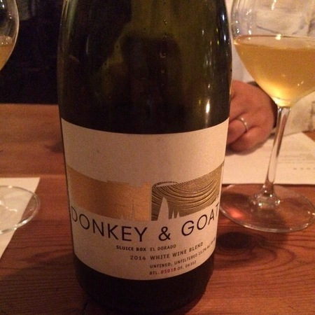 Donkey and Goat Sluice Box El Dorado White Rhone Blend 2014