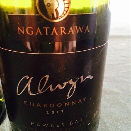Ngatarawa Alwyn Chardonnay  2010