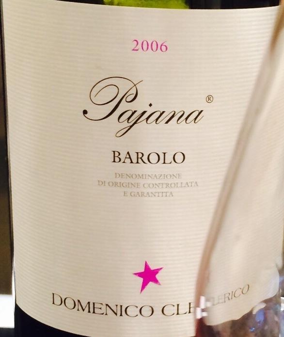 Pajana Barolo Nebbiolo 2006