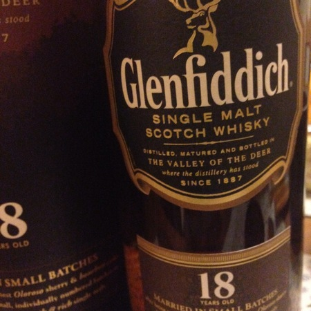 Glenfiddich 18 Years Old Single Malt Scotch Whisky NV