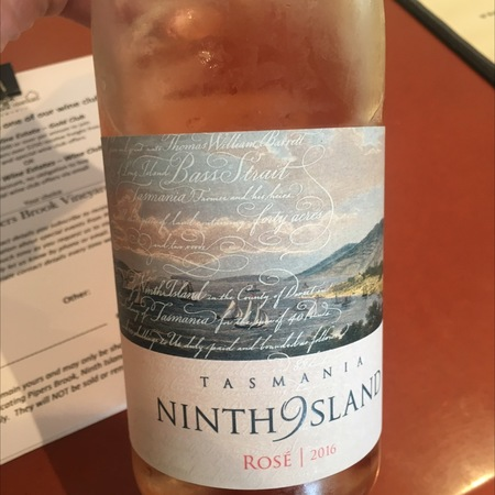 Ninth Island Tasmania Rose  NV