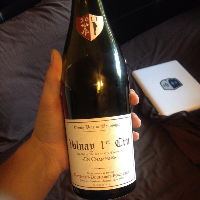 """""""En Champans"""" Volnay 1er Cru Pinot Noir 2008"""