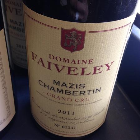 Domaine Faiveley (Joseph Faiveley) Mazis-Chambertin Grand Cru Pinot Noir 2011